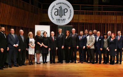 Obchody jubileuszu 100 lecia Odrodzonej Adwokatury Polskiej