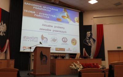 Ogólnopolska Konferencja Naukowa pt.: Aktualne problemy zawodów prawniczych – reportaż