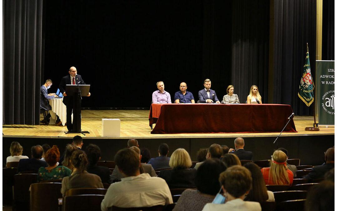 Zgromadzenie Sprawozdawczo-Wyborcze Izby Adwokackiej w Radomiu