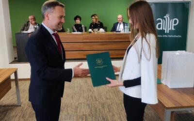 Środowiskowy Konkurs Krasomówczy Aplikantów Adwokackich w Lublinie